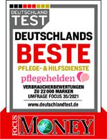 Deutschlands Beste Focus Money Auszeichnung Pflegehelden